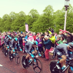 Team Sky at Stormont